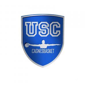 Logo US Cagnes Basket